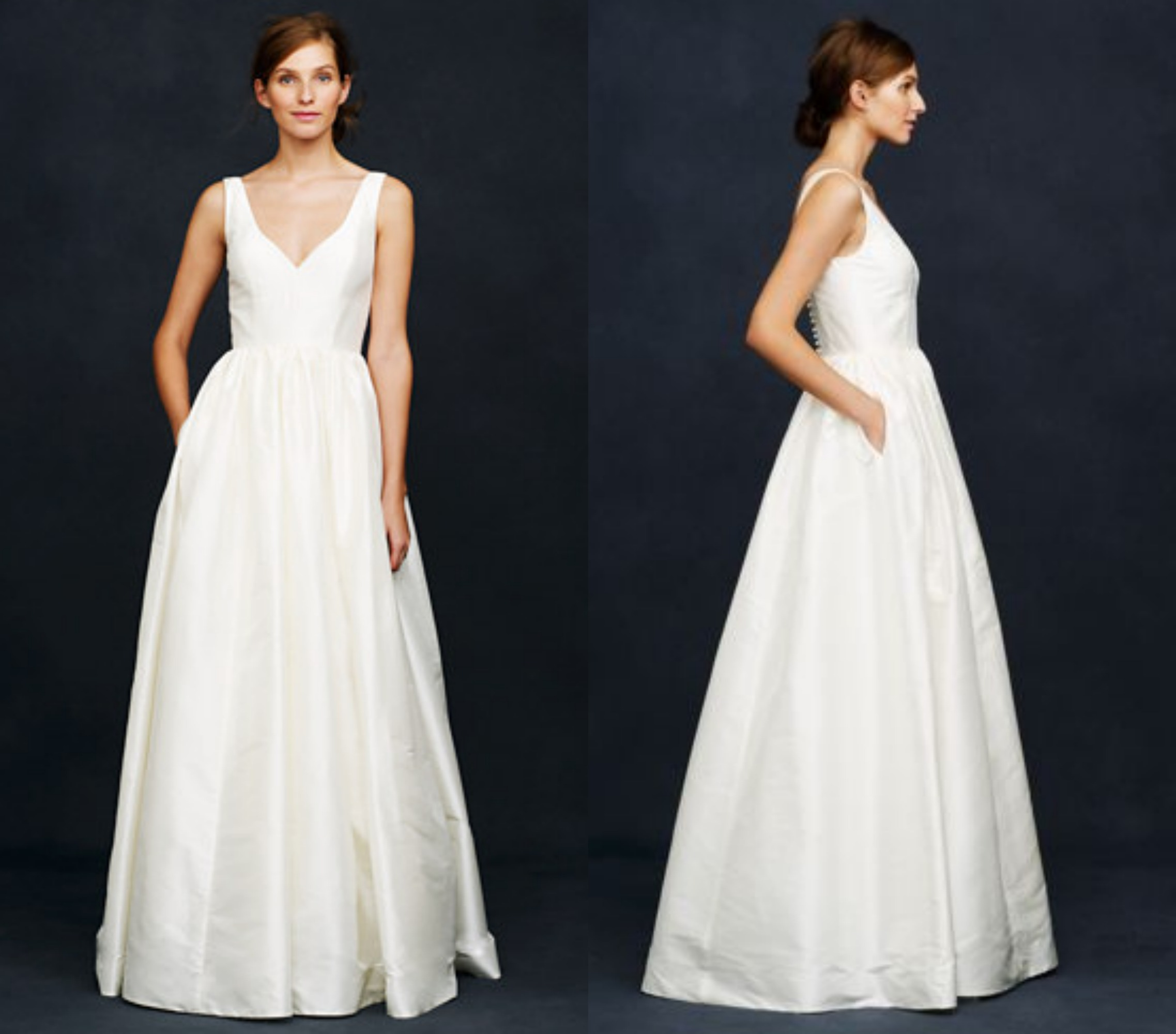 J.Crew Wedding Dresses For The Preppy Bride