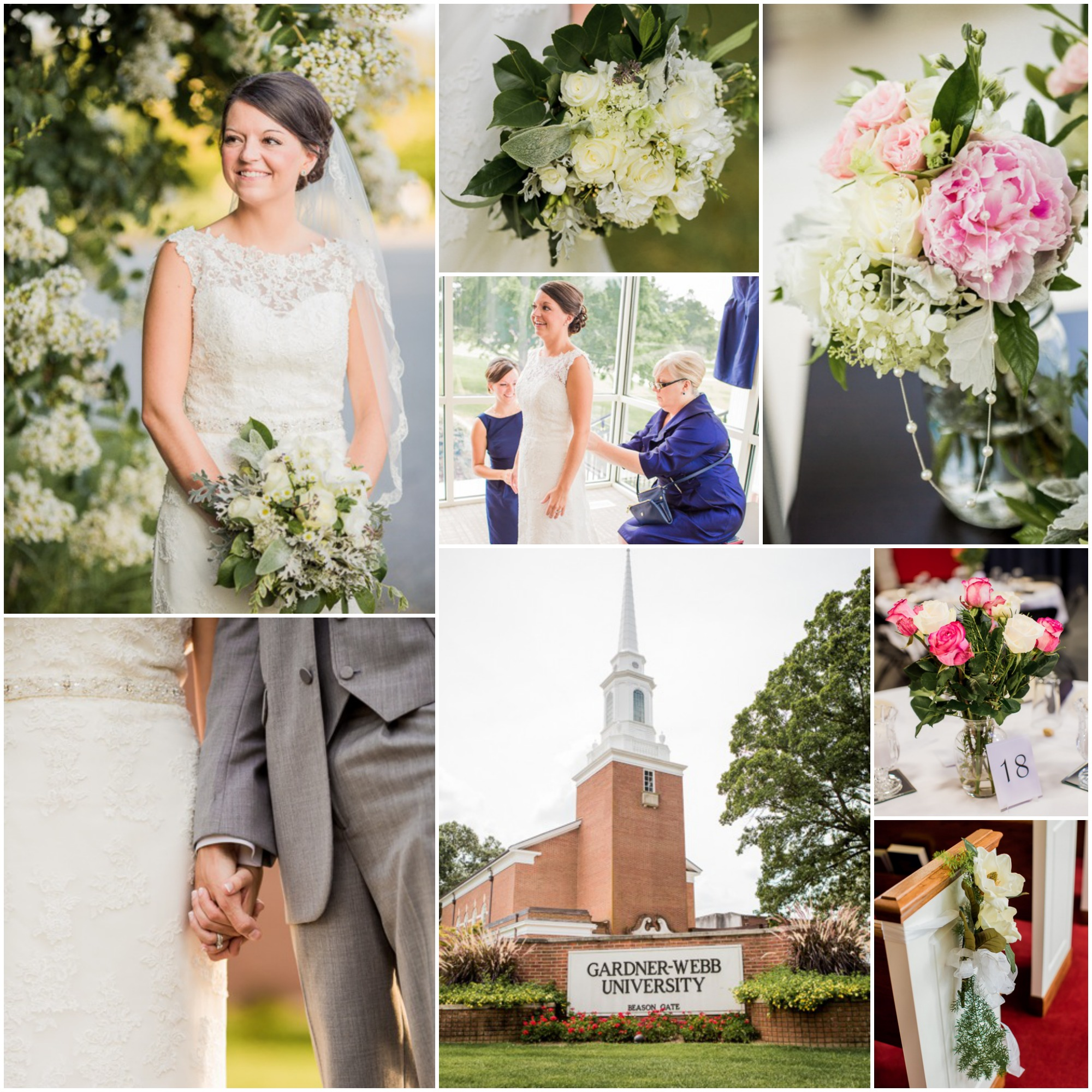 North Carolina Farm Wedding Kiersten Sam: Southern Preppy Wedding