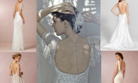 Backless Style Wedding Gowns