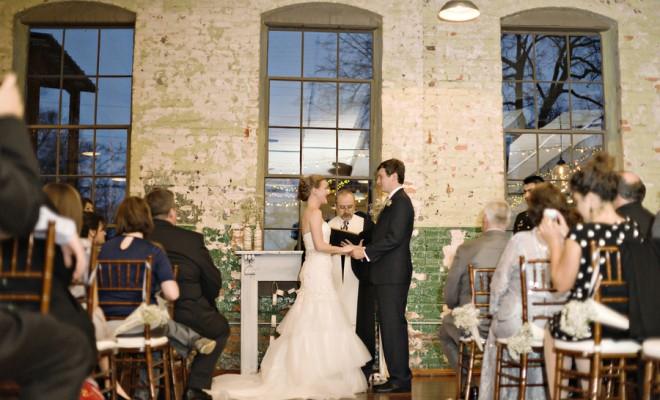 Industrial Wedding Ceremony Space