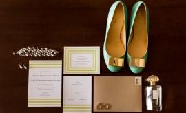 Preppy Wedding Style Invitations