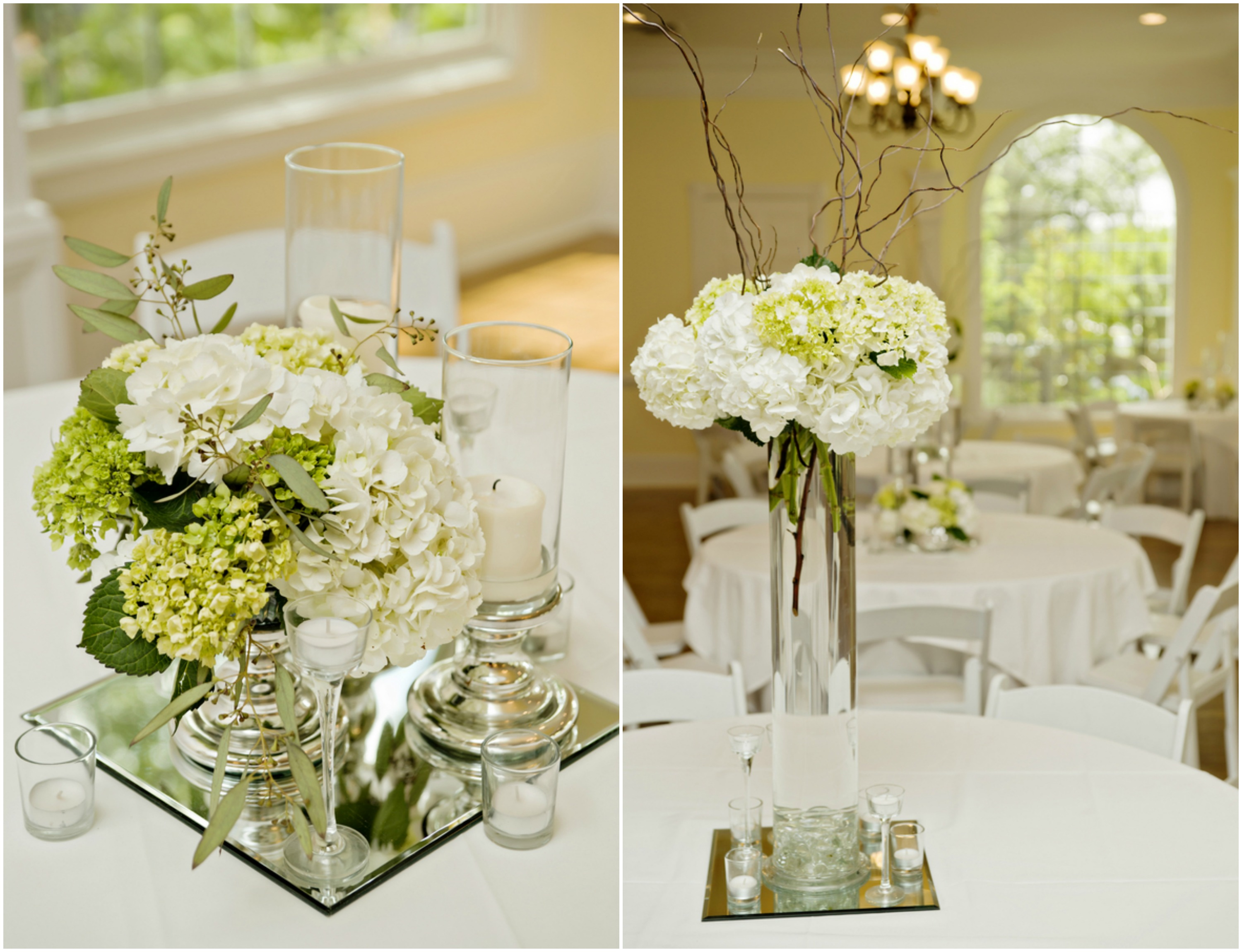 37 elegant floral centerpieces for wedding table for Floral wedding decorations ideas