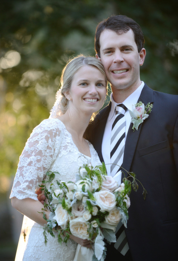 Beautiful Southern Wedding - Preppy Wedding Style